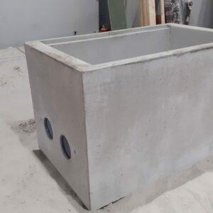 trekput warmtenet beton
